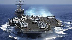 Trump als Weltpolizist?: US-Kriegsschiff nimmt Kurs auf Nordkorea