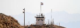 Aus Ägypten abgefeuert: Rakete schlägt im Süden Israels ein