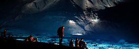 Höchster Alarm für die Erde!: Jean Michel Jarre beschallt das Tote Meer