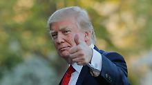 Theorien und Verschwörungen: Was macht Trump in Syrien?