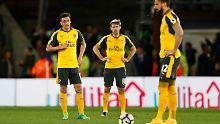 Platz vier rückt in die Ferne: Arsenal kassiert höchste Saisonpleite