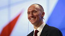 Bericht: Observation genehmigt: War Trump-Berater russischer Spion?