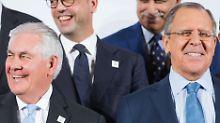 Ex-Manager begegnet Diplomaten: Tandem Tillerson-Lawrow muss sich finden