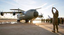 Mängel beim Airbus-Transporter: A400M muss Flughöhe drosseln