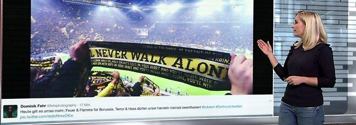 n-tv Netzreporterin: Fußballdeutschland schickt Dortmund Kraft
