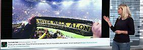 n-tv Netzreporterin: Fußballdeutschland öffnet Türen und Herzen