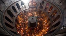 In Jerusalem wird's Ostern eng: Pilger haben neuen Blick in Jesu-Grabkapelle