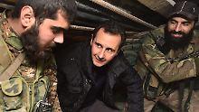 "Giftgasangriff ""konstruiert"": Assad fordert ""unabhängige"" Untersuchung"