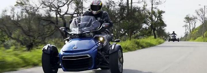 Exot auf drei Rädern: Für wen ist der Can-Am Spyder gedacht?