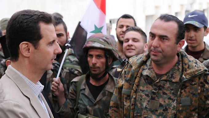 Wollen die USA Assad stürzen? Nahost-Experte Eric Bordenkircher bezweifelt das.