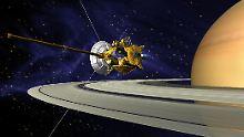 Großes Finale für Cassini: Raumsonde soll durch Saturn-Ringe tauchen