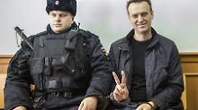 Gemeinsam gegen Putin: Chodorkowski unterstützt Nawalny