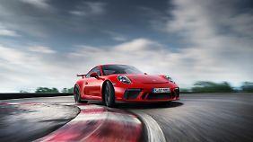 Der Porsche GT3 ist der Klassiker unter den Rennautos für die Straße.