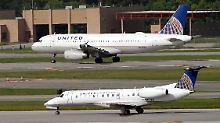 Brautpaar aus Flugzeug geworfen: United Airlines kommt nicht zur Ruhe