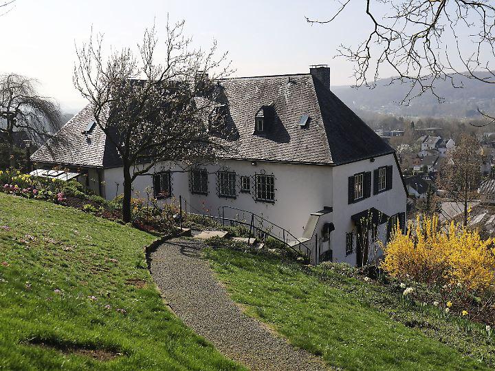 Adenauers Haus in Rhöndorf.