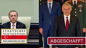 Alle Macht dem Präsidenten: Das ändert sich durch die Verfassungsreform in der Türkei