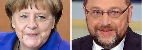 Stern-RTL-Wahltrend: Merkel hängt Schulz weiter ab