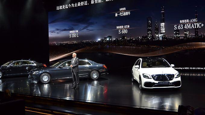 Mercedes-Chef Dieter Zetsche war nur einer der Protagonisten, die die Vorzüge der neuen S-Klasse beschrieben haben.