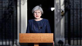 Überraschung in London: May kündigt Neuwahlen in Großbritannien an