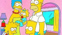 Die Simpsons werden 30: Gelbe Superstars mit acht Fingern