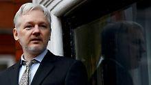 Vorwurf der Vergewaltigung: Schweden stellt Verfahren gegen Assange ein