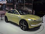 """Mit der """"Vision E"""" will Skoda elektrisch in die Zukunft fahren."""