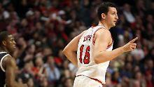 "Bulls ärgern NBA-Favorit Boston: Knipser Zipser wird zum ""X-Faktor"""