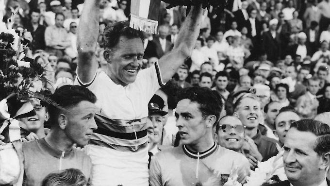 Weltmeister: Täve Schur 1959.