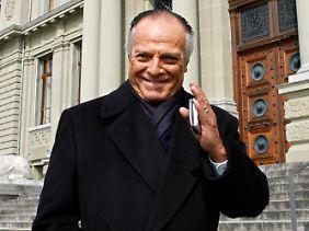 Ruben Acosta - im Jahr 2006 vor dem Schweizer Gericht, das ihn kurz zuvor im Korruptionsskandal freigesprochen hatte.