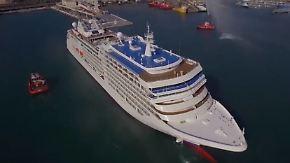 """12 Tage für knapp 10.000 Euro: Luxus-Kreuzer """"Silver Muse"""" sticht in See"""