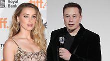 Amber Heard frisch verliebt: Was läuft da mit dem Tesla-Milliardär?