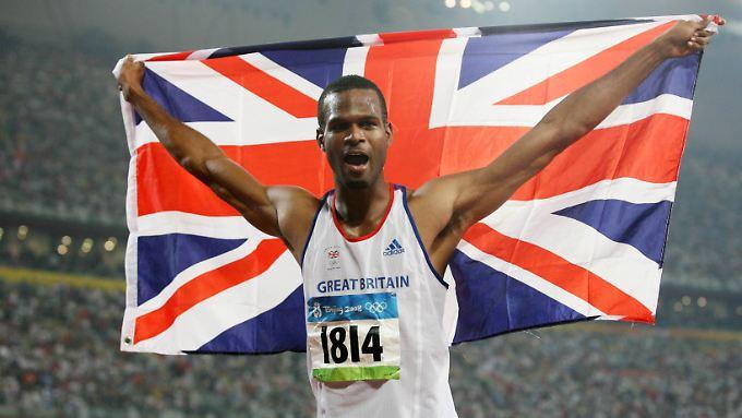 Germaine Mason gewann bei den Olympischen Spielen in Peking die Silbermedaille.