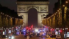 Pariser Polizist getötet: Terrorangriff auf den Champs-Élysées