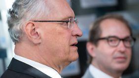 Joachim Herrmann und Alexander Dobrindt sollen nach der Bundestagswahl in Berlin idealerweise als Innenminister respektive CSU-Landesgruppenchef wirken. In Bayern dürfte aber weiter Horst Seehofer die Hauptrolle spielen.