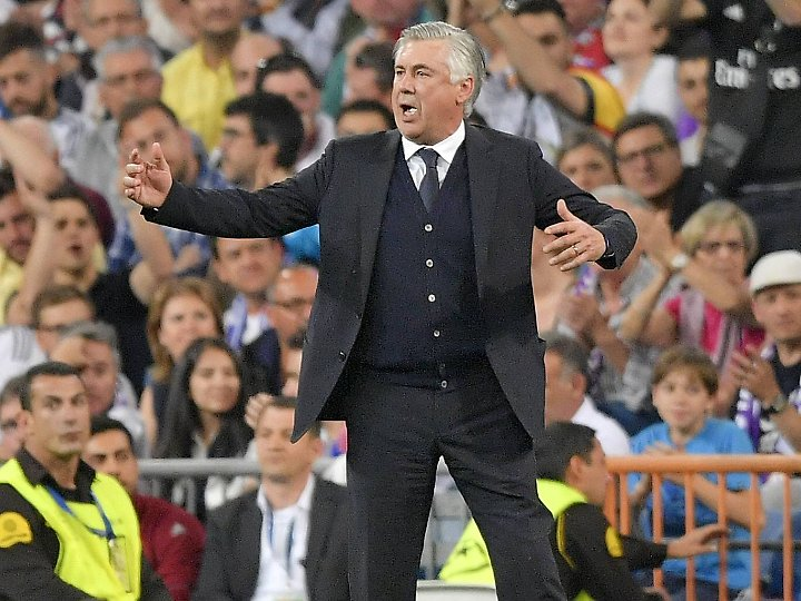 """""""Wir wollen das Beste bis zum Ende der Saison herausholen"""": Carlo Ancelotti."""