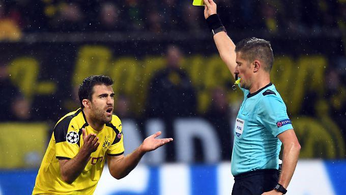 Für einen Schiedsrichter ist ein Spiel gut gelaufen, wenn man nach der Partie nicht über ihn spricht.