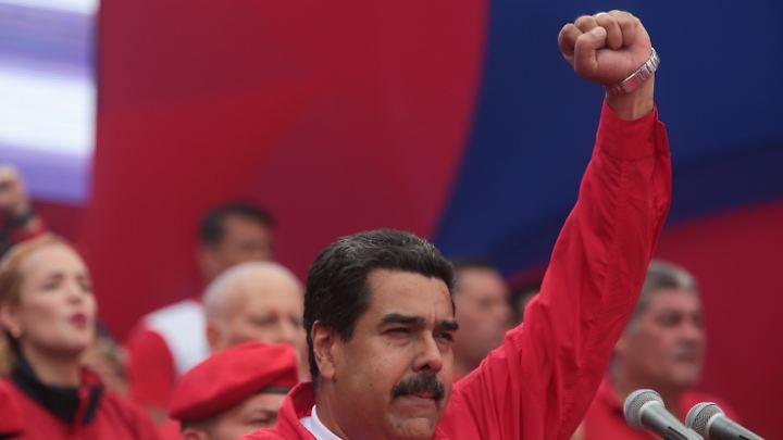 Venezuelas Staatschef Nicolás Maduro.