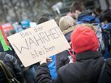 """Weltweiter """"March for Science"""": Tausende fordern Freiheit der Forschung"""