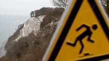 20-Jährige stirbt auf Rügen: Frau stürzt von Kreidefelsen in den Tod