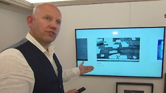 Kunst statt Fernseher: IFA-Aussteller geben Vorgeschmack auf Technik-Highlights