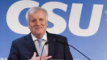 """""""Fehler"""" von 2013 ausgebügelt: Seehofers Mission ist noch nicht beendet"""