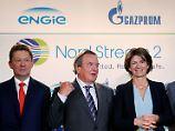 Nord Stream 2 ist finanziert: Fünf Konzerne springen Gazprom bei