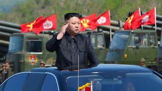 Drohender Krieg?: China warnt im Nordkorea-Konflikt vor unbeherrschbarer Lage