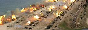 Größtes Manöver aller Zeiten: Nord- und Südkorea demonstrieren Stärke