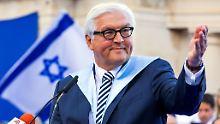 Frank-Walter Steinmeier ist seit Mai 2015 Ehrendoktor an der Hebräischen Universität in Jerusalem.