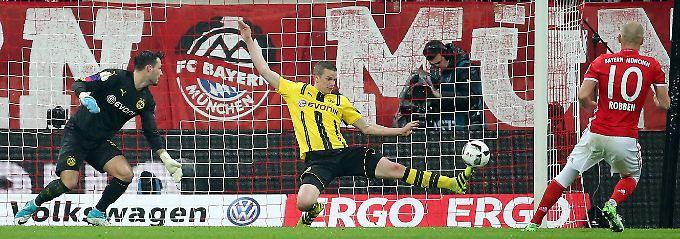 Bender heroisch, Tuchel beseelt: BVB-Wundergrätsche bricht den FC Bayern