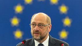 Karrierevorteile für Mitarbeiter?: EU-Parlament entscheidet über Rüge für Schulz
