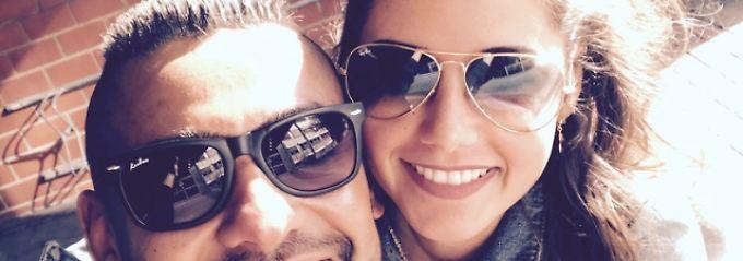 Liebes-Selfie zu Promo-Zwecken: Sarah Lombardi kuschelt mit ihrem Michal