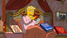 """Selbstmord und Shopping-Kanal: """"Die Simpsons"""" vernichten Trump-Regierung"""