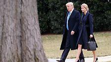 """Obwohl die """"First Daughter"""" offiziell als Assistentin angestellt ist, residiert sie in einem eigenen Büro im Weißen Haus."""